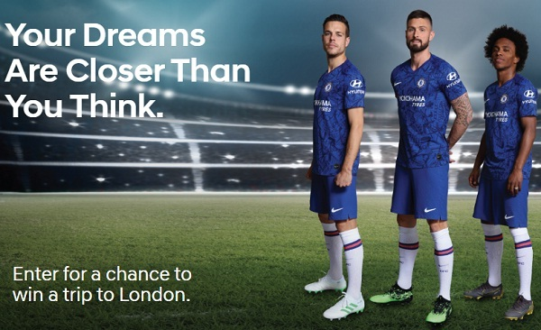 Hyundai Soccer in London Sweepstakes