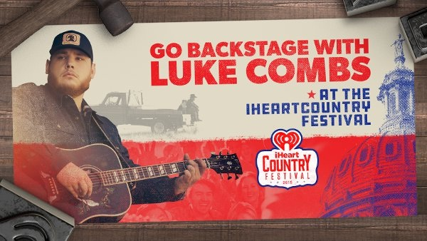 Iheartradio com Go Backstage With Luke Combs Sweepstakes
