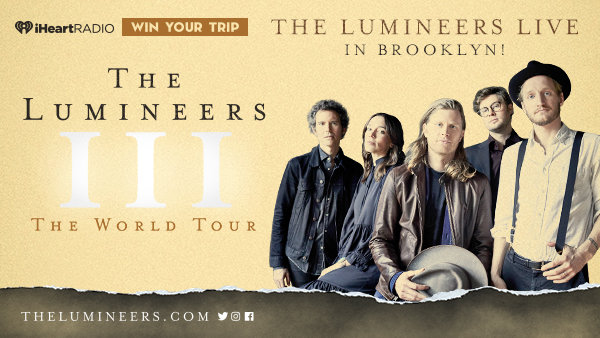 iHeartRadio Sweepstakes 2019: Win A Trip To See Lumineers Live