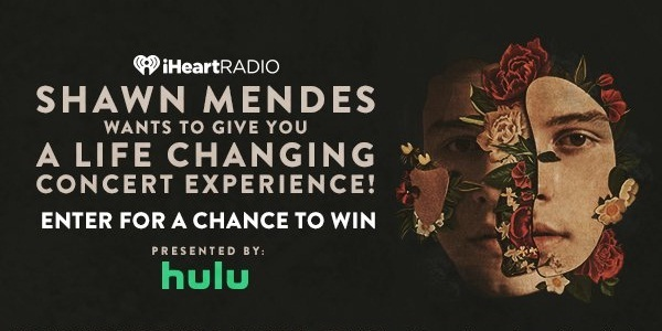 IHeartRadio.com Shawn Mendes Sweepstakes
