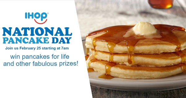 Ihop National Pancake Day Sweepstakes Sweepstakesbible