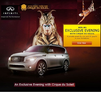 Win Exclusive Evening with Cirque du Soleil