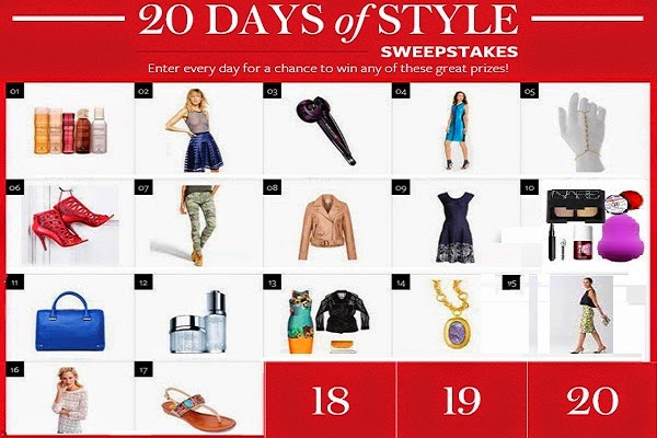 InStyle 20 Days of Style Sweepstakes