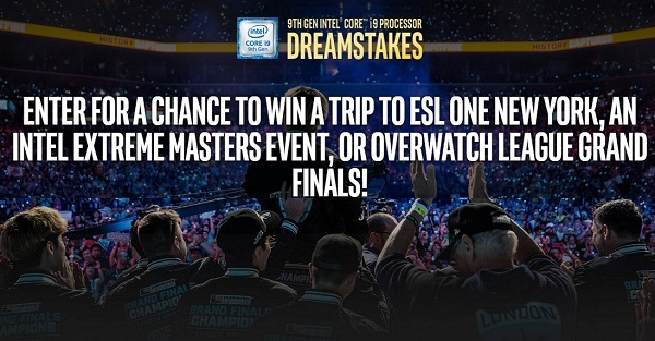 Intel Dreamstakes Contest on Corei9.intel.com