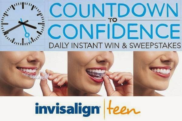 Invisalign Countdown to Confidence Daily IWG Sweepstakes