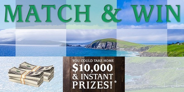 Irish 2 Core Sweepstakes and Instant Win Game