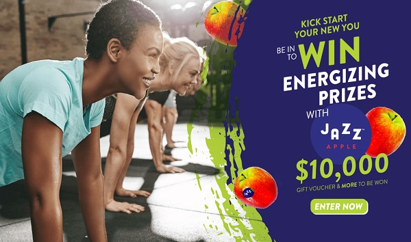 Jazz Apples Kickstart Your New You Sweepstakes