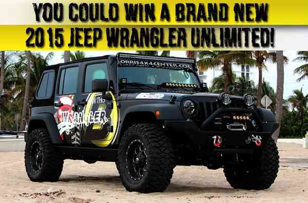 2015 Jeep Wrangler Jeep Giveaway