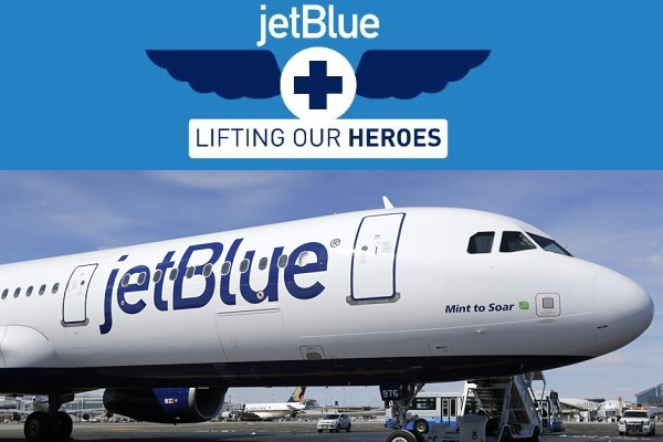JetBlue Healthcare Heroes Sweepstakes: Win Free Flight Tickets