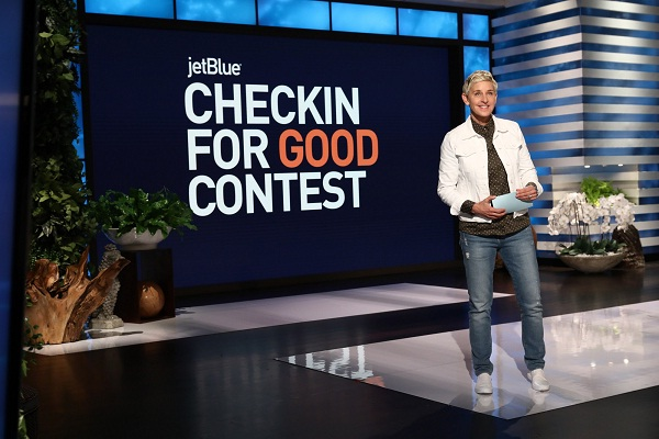 JetBlue Check-in for Good Contest