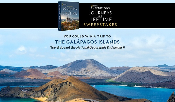 National Geographic Journeys of a Lifetime Sweepstakes: Win Trip