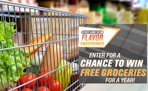 Free Groceries for A Year Sweepstakes 2019