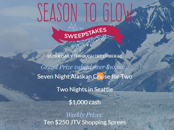 JTV - Season to Glow Sweepstakes