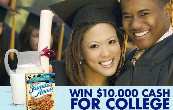 Famous Amos Cash for College Sweepstakes