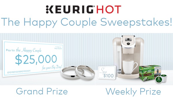 "Keurig ""Happy Couple"" Sweepstakes 