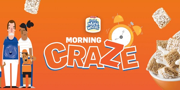 Kellogg's Family Reward Morning Craze Game Sweepstakes (500 Winners)