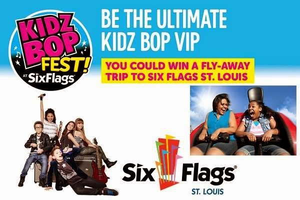 Six Flags Kidz Bop Fest Sweepstakes
