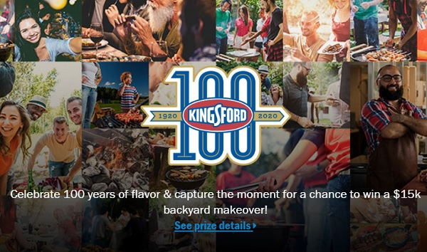 Kingsford Show Us How You Grill Sweepstakes Win 15k Backyard