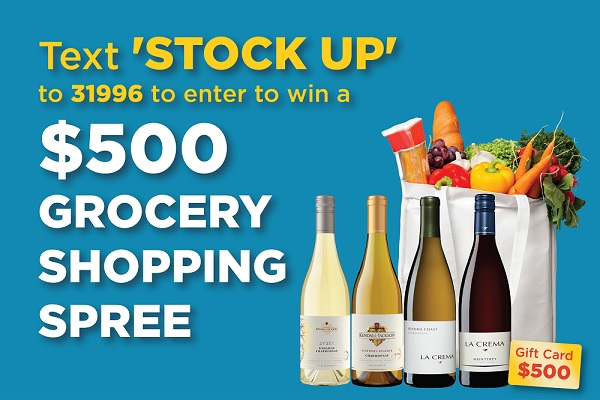 Grocery Shopping Spree Sweepstakes
