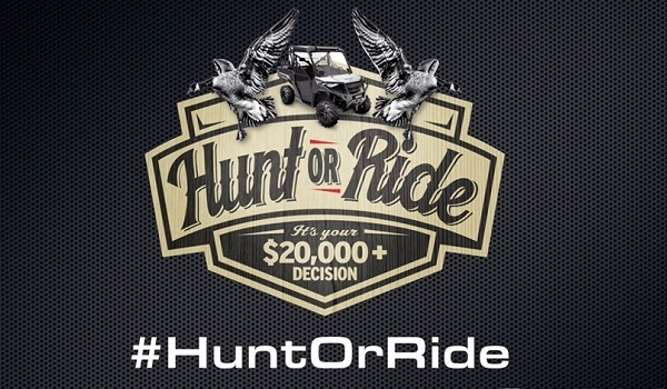 Kolpin Hunt or Ride Contest