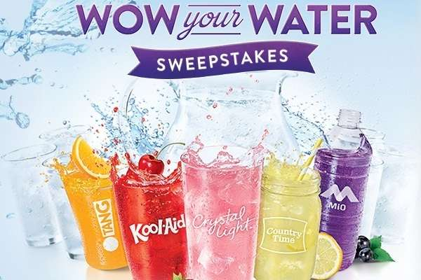 Kraft Wow Your Water IWG Sweepstakes