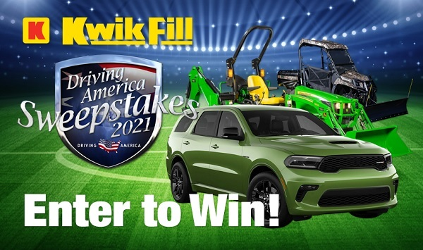 KwikFill.com Driving America Sweepstakes