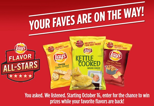 Lay's Flavor All-Stars Promotion