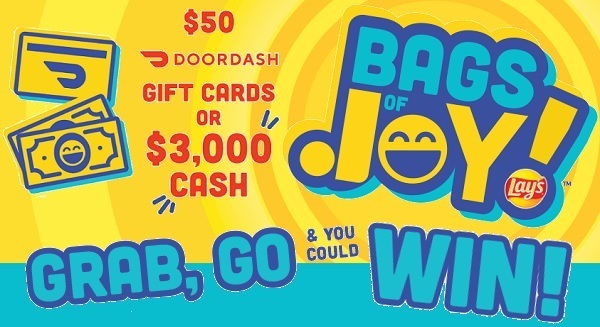 Lay's Bags of Joy Sweepstakes on Laysforjoy.com