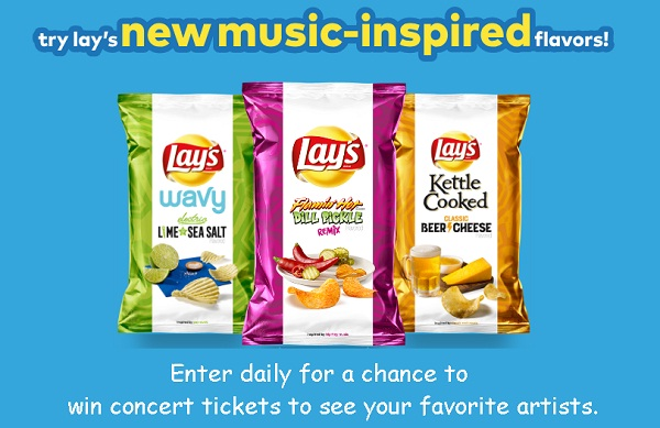 Lay's Turn Up the Flavor Instant Win Game