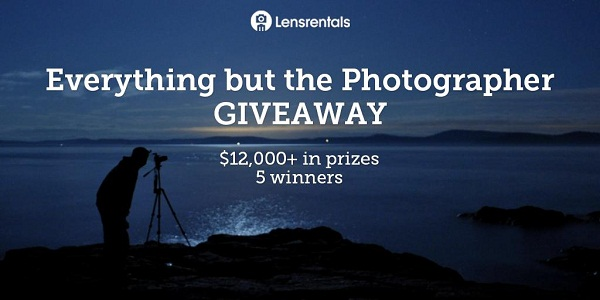Lensrentals.com Everything But The Photographer Giveaway