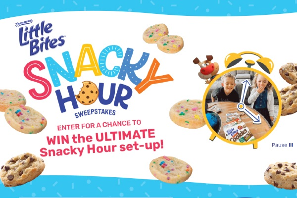 Entenmann's Little Bites Cookies Snacky Hour Sweepstakes