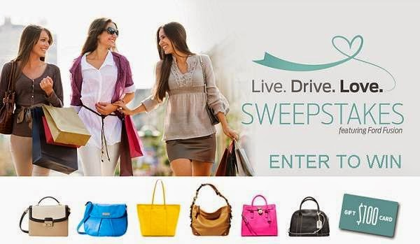 Ford Live Drive Love Sweepstakes