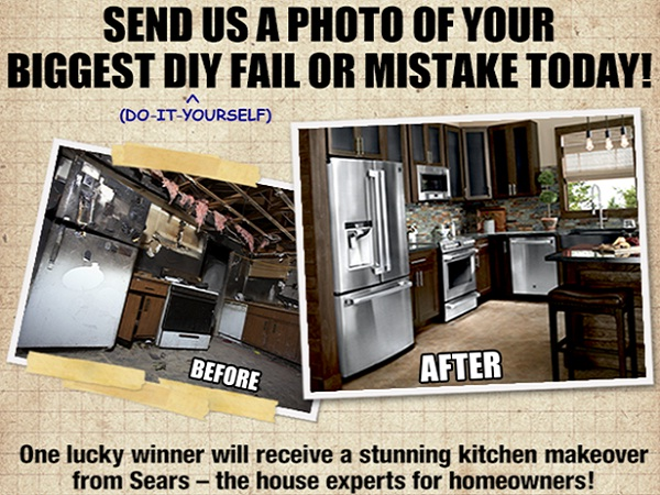 LIVE\'s DIY Disasters Photo Contest: Win $20000 for Kitchen ...