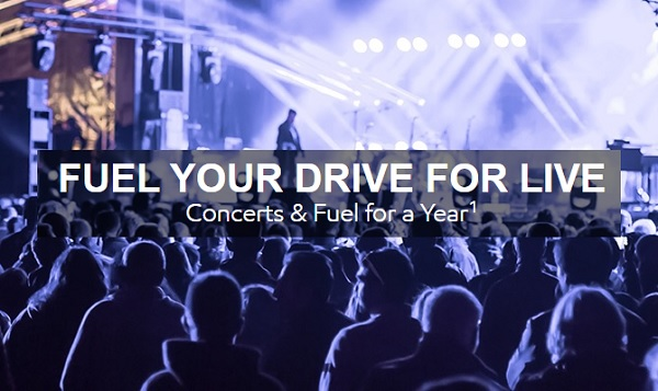 The Fuel Your Drive for Live Sweepstakes