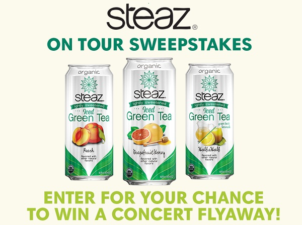 Livenation.com Steaz on Tour Sweepstakes