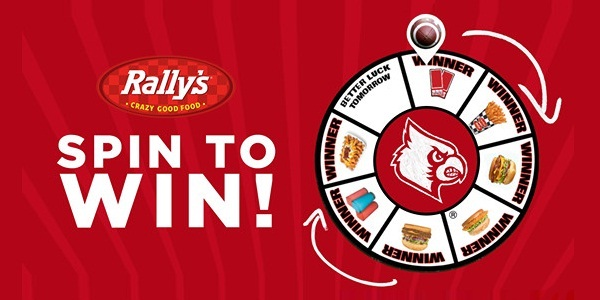 Louisville Rally's Spin to Win IWG & Sweepstakes