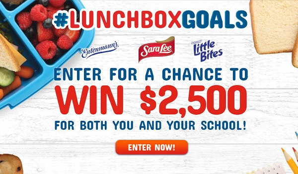 Mom's Return To School LunchboxGoals Sweepstakes