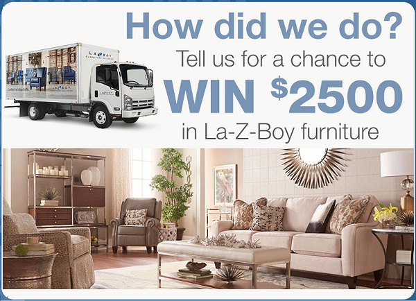 La-Z- Boy Satisfaction and Loyalty Sweepstakes