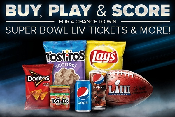 Frito-Lay and Pepsi Made For Super Bowl LIII Sweepstakes