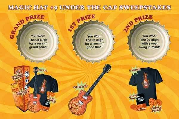 Magic Hat #9 Under the Cap Sweepstakes