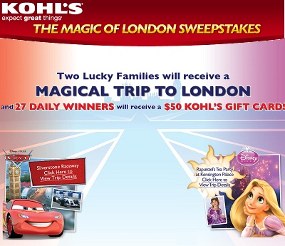 The Magic of London Sweepstakes