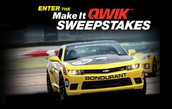 SMP Make It QWIK Sweepstakes
