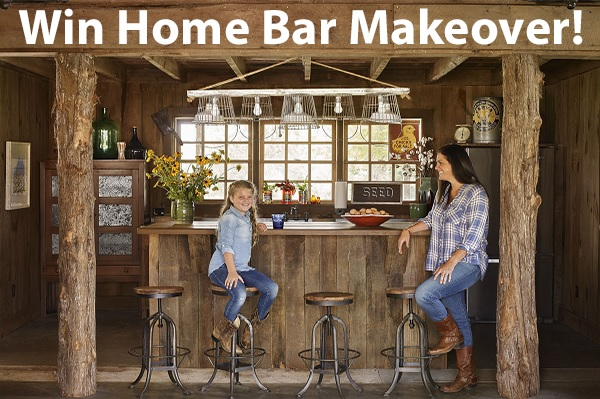 Home Bar Makeover Giveaway 2021