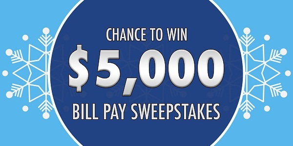 Marquette Savings Bank Bill Pay Sweepstakes