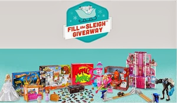 Mattel Shop Fill the Sleigh Giveaway