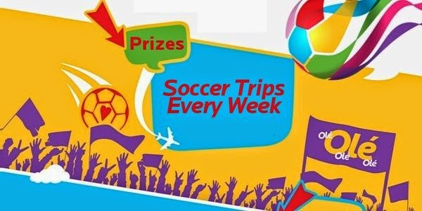 McDonald's 2014 Peel. Play. Ole, Ole Game and Sweepstakes