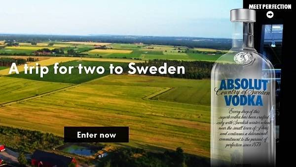 Meet Absolut Sweepstakes
