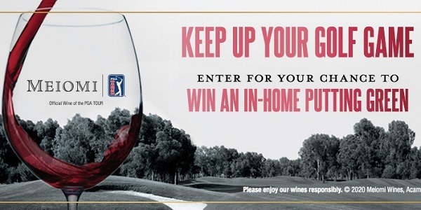 Meiomi Wines In-Home Putting Green Sweepstakes
