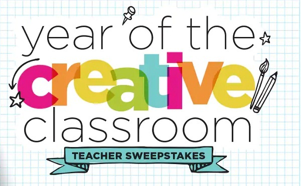 Michaels com Year of Creative Classroom Sweepstakes