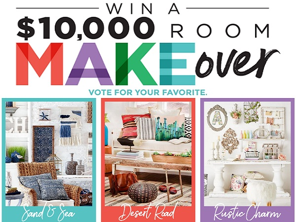 Michaels.com Win $10000 Room Makeover Sweepstakes